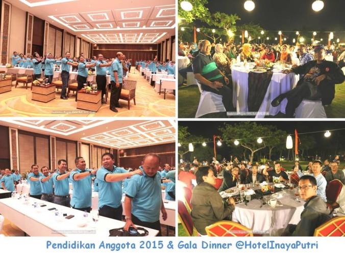 Pendidikan Anggota 2015 & Gala Dinner @